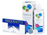 alensa.gr - Φακοί επαφής - Frequency 55 (6 φακοί)