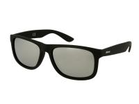 Sunglasses Alensa Sport Black Silver Mirror
