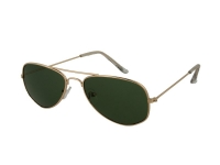 alensa.gr - Φακοί επαφής - Kids sunglasses Alensa Pilot Gold