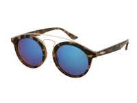 alensa.gr - Φακοί επαφής - Kids sunglasses Alensa Panto Havana Blue Mirror