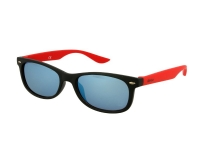 alensa.gr - Φακοί επαφής - Kids sunglasses Alensa Sport Black Red Mirror