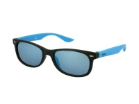 alensa.gr - Φακοί επαφής - Kids sunglasses Alensa Sport Black Blue Mirror