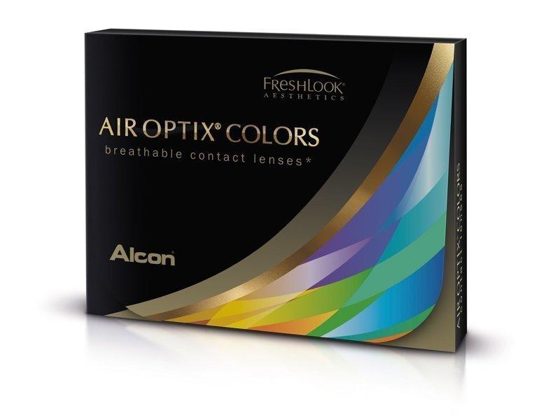 Air Optix Colors - Grey - Μη διοπτρικοί (2φακοί)