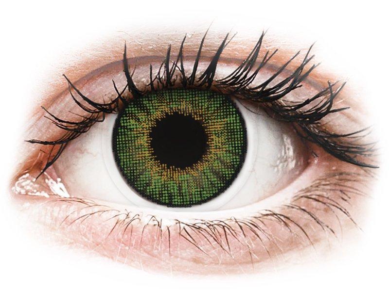 Air Optix Colors - Green - Μη διοπτρικοί (2φακοί)