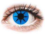 alensa.gr - Φακοί επαφής - ColourVUE Crazy Lens - Blue Star - Μη διοπτρικοί
