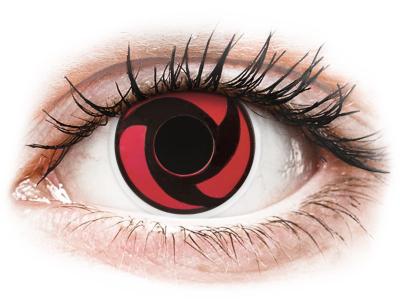ColourVUE Crazy Lens - Mangekyu - Μη διοπτρικοί (2 φακοί)