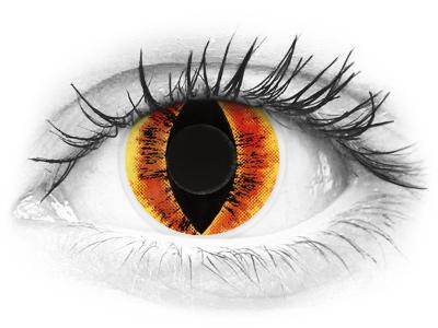 ColourVUE Crazy Lens - Saurons Eye - Μη διοπτρικοί (2 φακοί)