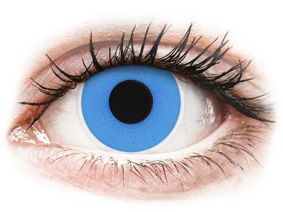 ColourVUE Crazy Lens - Sky Blue - Μη διοπτρικοί (2 φακοί)