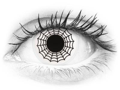 ColourVUE Crazy Lens - Spider - Μη διοπτρικοί (2 φακοί)