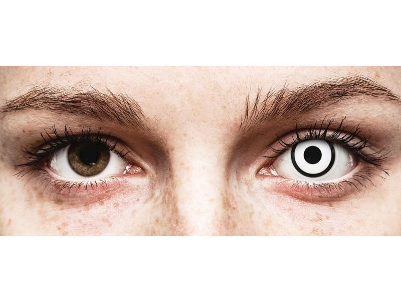 ColourVUE Crazy Lens - White Zombie - Μη διοπτρικοί (2 φακοί)