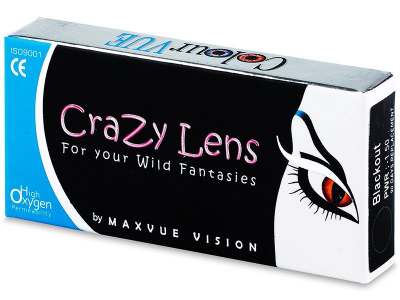 ColourVUE Crazy Lens - WhiteOut - Διοπτρικοί (2 φακοί)
