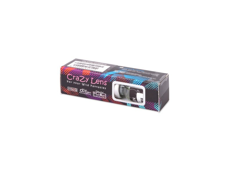 ColourVUE Crazy Glow Electric Blue - Μη διοπτρικοί (2φακοί)