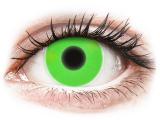 alensa.gr - Φακοί επαφής - ColourVUE Crazy Glow Green - Μη διοπτρικοί