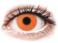 alensa.gr - Φακοί επαφής - ColourVUE Crazy Glow Orange - Μη διοπτρικοί