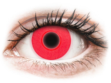 alensa.gr - Φακοί επαφής - ColourVUE Crazy Glow Red - Μη διοπτρικοί