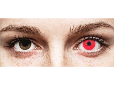 ColourVUE Crazy Glow Red - Μη διοπτρικοί (2φακοί)