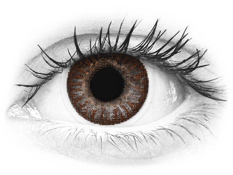 TopVue Color - Brown - Διοπτρικοί (2φακοί)