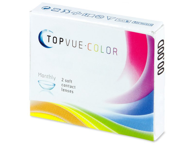 TopVue Color - True Sapphire - Μη διοπτρικοί (2 φακοί)