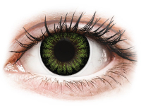 alensa.gr - Φακοί επαφής - ColourVUE BigEyes Party Green - Μη διοπτρικοί