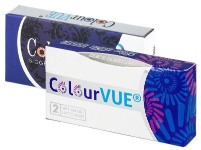 ColourVUE 3 Tones Blue - Μη διοπτρικοί (2φακοί)