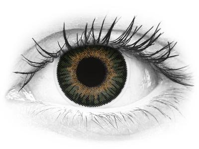 ColourVUE 3 Tones Green - Μη διοπτρικοί (2φακοί)