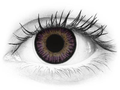 ColourVUE 3 Tones Violet - Μη διοπτρικοί (2φακοί)
