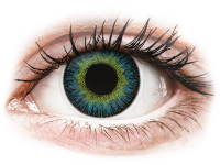 alensa.gr - Φακοί επαφής - ColourVUE Fusion Yellow Blue - Διοπτρικοί