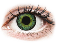 alensa.gr - Φακοί επαφής - ColourVUE Fusion Green Yellow - Διοπτρικοί