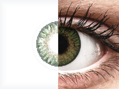 FreshLook ColorBlends Gemstone Green - Διοπτρικοί (2 φακοί)