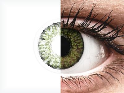 FreshLook ColorBlends Green - Διοπτρικοί (2 φακοί)