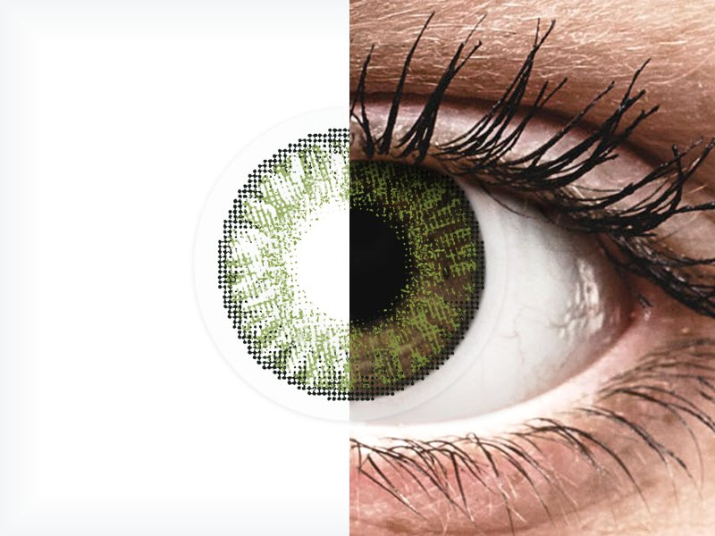 FreshLook ColorBlends Green - Μη διοπτρικοί (2 φακοί)
