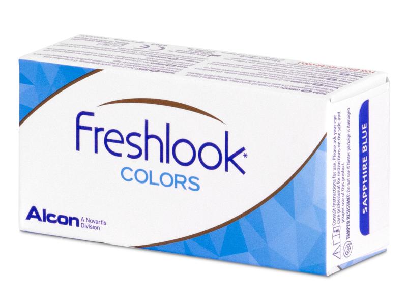 FreshLook Colors Blue - Μη διοπτρικοί (2 φακοί)