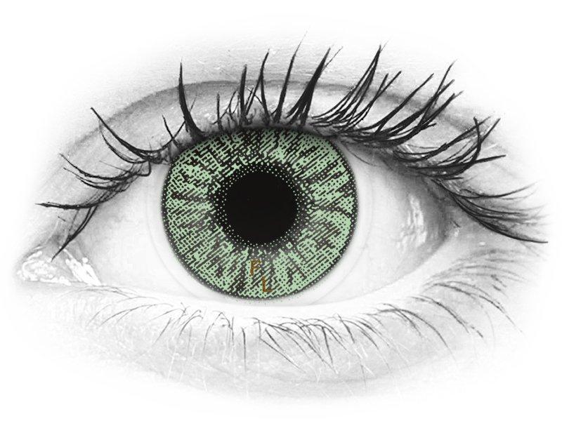 FreshLook Colors Green - Διοπτρικοί (2 φακοί)