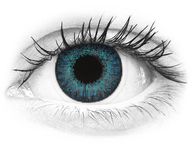 Air Optix Colors - Brilliant Blue - Μη διοπτρικοί (2φακοί)