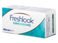 FreshLook Dimensions Sea Green - Διοπτρικοί (6 φακοί)