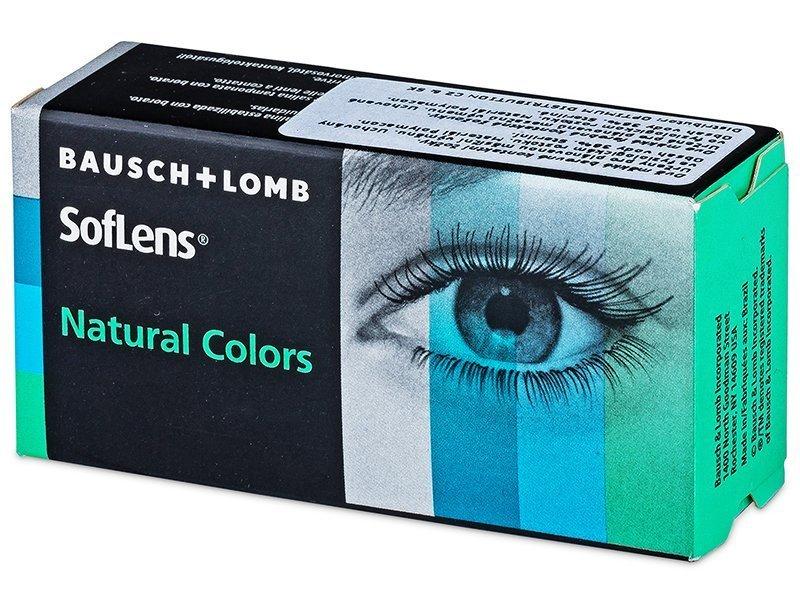 SofLens Natural Colors Dark Hazel - Διοπτρικοί (2 φακοί)