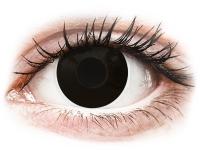 alensa.gr - Φακοί επαφής - ColourVUE Crazy Lens - Blackout - Ημερήσιοι φακοί Μη διοπτρικοί