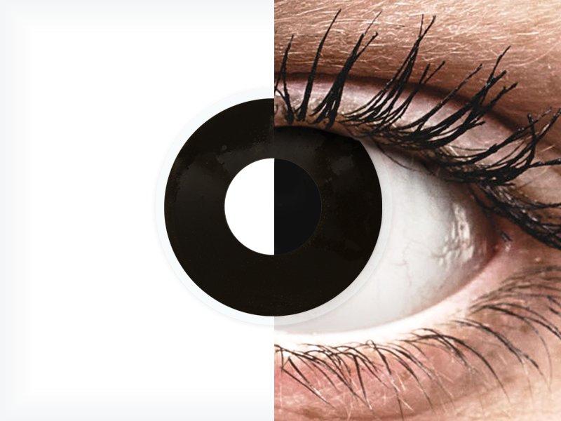81f0f267b4 ... ColourVUE Crazy Lens - Blackout - Ημερήσιοι φακοί Μη διοπτρικοί (2 φακοί)  ...