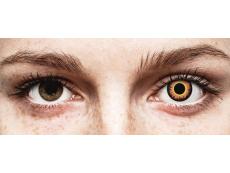 ColourVUE Crazy Lens - Orange Werewolf - Ημερήσιοι φακοί Μη διοπτρικοί (2 φακοί)