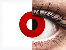 ColourVUE Crazy Lens - Red Devil - Ημερήσιοι φακοί Μη διοπτρικοί (2 φακοί)