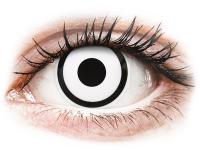 alensa.gr - Φακοί επαφής - ColourVUE Crazy Lens - White Zombie - Ημερήσιοι φακοί Μη διοπτρικοί