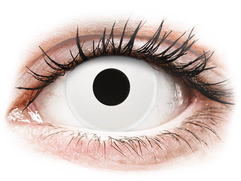 a5668565bc ... ColourVUE Crazy Lens - Whiteout - Ημερήσιοι φακοί Μη διοπτρικοί (2 φακοί)  ...