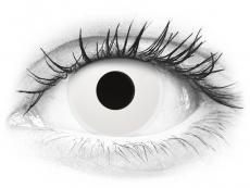 ColourVUE Crazy Lens - Whiteout - Ημερήσιοι φακοί Μη διοπτρικοί (2 φακοί)