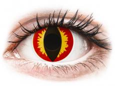 ColourVUE Crazy Lens - Dragon Eyes - Ημερήσιοι φακοί Μη διοπτρικοί (2 φακοί)