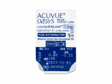 Acuvue Oasys 1-Day with HydraLuxe for Astigmatism (30 φακοί)