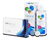 TopVue Air  (6 φακοί) + Υγρό Gelone 360 ml