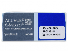 Acuvue Oasys (12 φακοί)