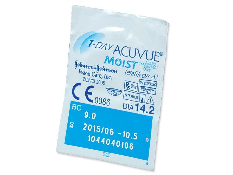 1 Day Acuvue Moist (180φακοί)