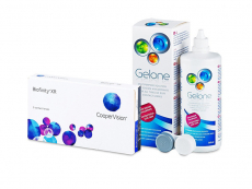 Biofinity XR (3 φακοί) + Υγρό Gelone 360 ml