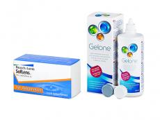 SofLens Toric (3 φακοί) + Υγρό Gelone 360 ml